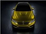 BMW M4 concept 2013 вид сверху