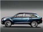 Bentley EXP 9 F Concept 2012 вид сбоку