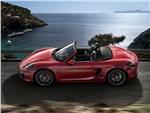 Porsche Boxster GTS - Porsche Boxster GTS 2014 вид сбоку