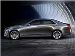 Cadillac CTS 2013 вид сбоку