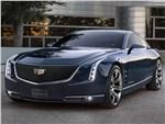Cadillac Elmiraj concept 2013 вид спереди 3/4
