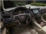 Cadillac Escalade - Cadillac Escalade 2015 водительское место