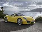 Porsche 911 Carrera 4S Cabriolet - Porsche 911 Carrera 4S Cabriolet 2011 вид спереди