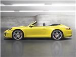 Porsche 911 Carrera 4S Cabriolet - Porsche 911 Carrera 4S Cabriolet 2011 вид сбоку