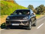 Porsche Cayenne S Diesel 2013 вид спереди