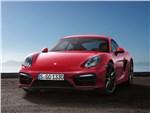 Porsche Cayman GTS - Porsche Cayman GTS 2014 вид спереди