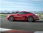 Porsche Cayman GTS - Porsche Cayman GTS 2014 вид сбоку