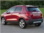 Chevrolet Tracker - Chevrolet Tracker 2013 вид сзади