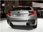 Subaru Cross Sport concept 2013 вид сзади
