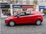 Ford Fiesta Van 2013 вид сбоку