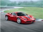 Ferrari 458 Speciale 2014 вид сбоку 3/4