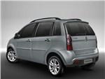 Fiat Idea - Fiat Idea 2013 вид сзади