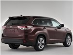 Toyota Highlander 2013 вид сзади