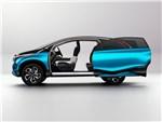 Honda Vision XS-1 2014 вид сбоку с открытыми дверями