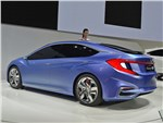 Honda B Concept 2014 вид сбоку сзади