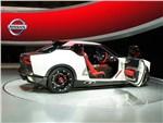 Nissan IDx Nismo Concept 2013 вид сбоку с открытой дверью