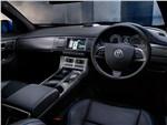 Jaguar XFR-S 2013 водительское место