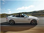 Jaguar XKR-S - Jaguar XКR-S Convertible 2013 вид сбоку