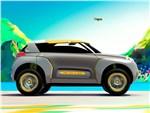 Renault Kwid concept 2014 вид сбоку