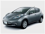 Nissan Leaf - Nissan Leaf 2013 вид спереди