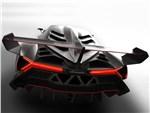 Lamborghini Veneno - Lamborghini Veneno 2013 вид сзади