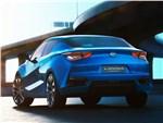 Nissan Lannia concept 2014 вид сзади