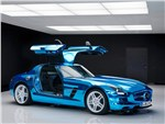 Mercedes-Benz SLS AMG Electric Drive - Mercedes-Benz SLS AMG Coupe Electric Drive 2013 вид сбоку