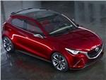 Mazda Hazumi concept 2014 вид спереди сверху