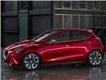 Mazda Hazumi concept 2014 вид сбоку