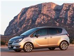 Opel Meriva - Opel Meriva 2013 вид сбоку