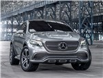 Mercedes-Benz Coupe SUV Concept 2014 вид спереди