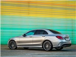Mercedes-Benz C-Klasse 2014 вид сбоку фото 2