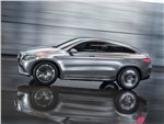 Mercedes-Benz Coupe SUV Concept 2014 вид сбоку