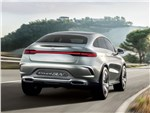 Mercedes-Benz Coupe SUV Concept 2014 вид сзади