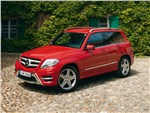 Mercedes-Benz GLK-Class - Mercedes-Benz GLK 2013 вид спереди
