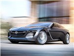 Opel Monza концепт 2013 вид спереди 3/4