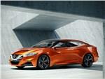 Nissan Sport Sedan concept 2014 вид сбоку фото 1
