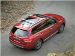 Nissan Pathfinder - Nissan Pathfinder 2012 вид сверху