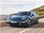 Porsche Panamera Turbo S 2013 вид спереди 2