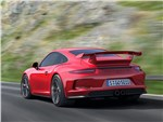 Porsche 911 GT3 3.8 2013 вид сзади