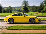 Porsche 911 Carrera 4S - Porsche 911 Carrera 4S вид сбоку
