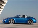 Porsche 911 Targa 2014 вид сбоку