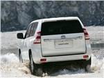 Toyota Land Cruiser Prado - Toyota Land Cruiser Prado 2014 вид сзади