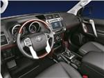 Toyota Land Cruiser Prado - Toyota Land Cruiser Prado 2014 водительское место