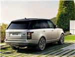 Land Rover Range Rover - Land Rover Range Rover 2013 вид сзади