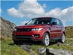 Land Rover Range Rover Sport - Land Rover Range Rover Sport 2013 вид спереди
