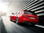 Audi RS4 - Audi RS4 Avant 2012 вид сзади