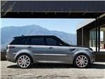 Land Rover Range Rover Sport - Land Rover Range Rover Sport 2013 вид сбоку