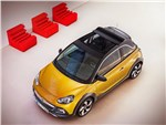 Opel Adam Rocks - Opel Adam Rocks 2014 вид сверху