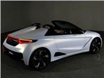 Honda S660 концепт 2014 вид сзади
